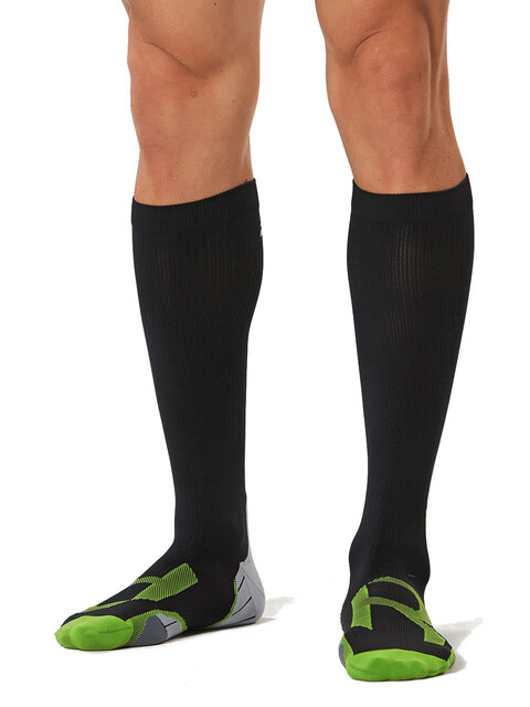 2XU Compression Socks Men for Recovery Black/Grey